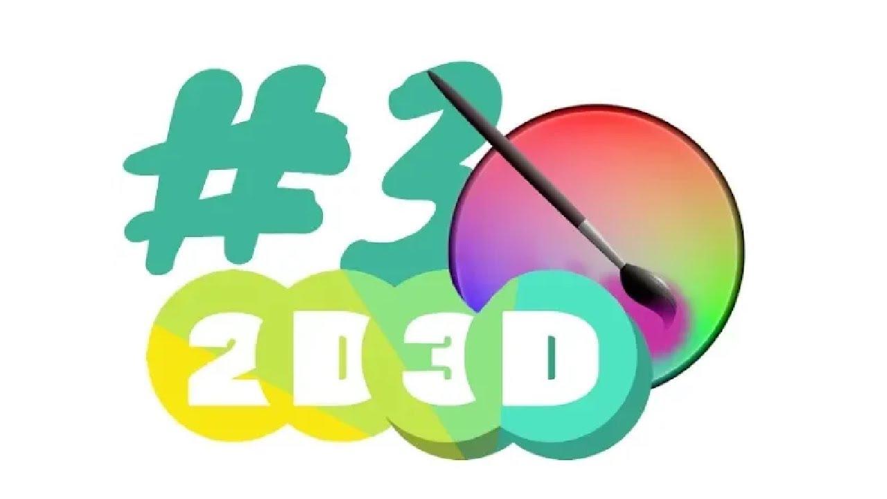 2D3D Krita 3 Tekenen