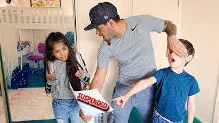 TXUNAMY GOT SUSPENDED FOR 5 DAYS FROM SCHOOL | Familia Diamond