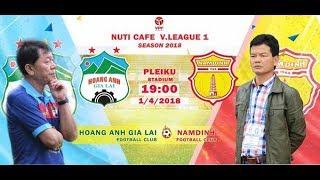 Trực tiếp bóng đá HAGL vs Nam Định: HAGL sẽ đá vì bầu Đức