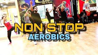 NON STOP AEROBICS || DANCE FITNESS || SALMAN KHAN MASHUP || HIGH ON ZUMBA|