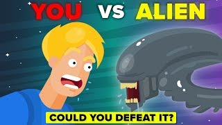 YOU vs XENOMORPH  - How Can You Defeat and Survive It (Alien Movie)