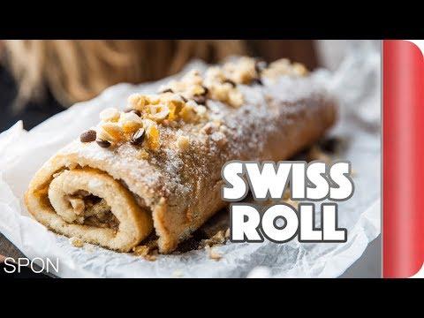 Hazelnut Swiss Roll Recipe