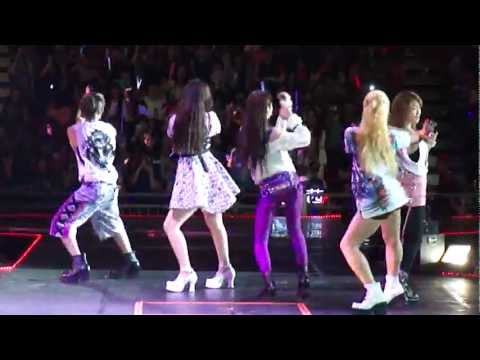 120623 Music Bank in HK FX - Electric Shock