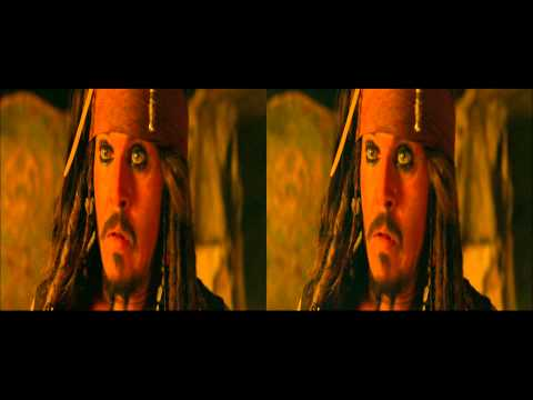 Pirates of the Caribbean 4 -  3D Trailer in 3d