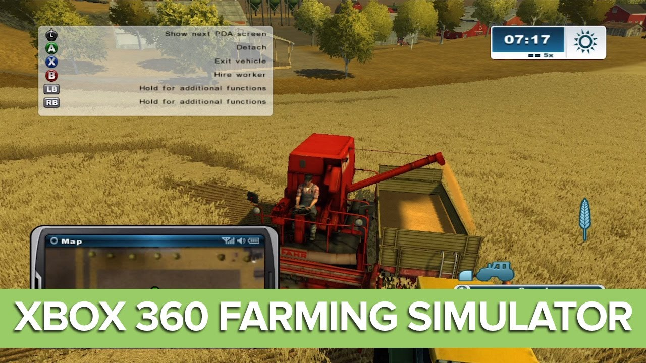 Farming simulator maps for xbox 360