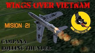 Wings over Vietnam / 357th TFS Licking Dragons / Misión 21
