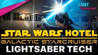 STAR WARS HOTEL's Lightsaber Technology at Walt Disney World - Disney News - April 13, 2021
