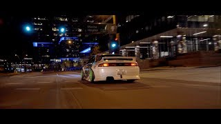 The Midnight Runner   2jz 240sx S14   4K