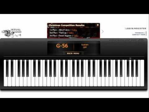Kingdom Hearts - Dearly Beloved (Virtual Piano)
