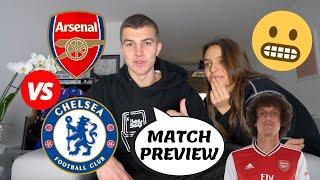ARSENAL vs CHELSEA MATCH PREVIEW || DAVID LUIZ vs CHELSEA FC || KOVACIC vs GUENDOUZI BATTLE