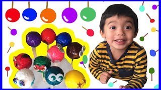 Fun Learning COLORS for Children Lollipop Color Balls | Learn NUMBERS for Toddlers Kids Video
