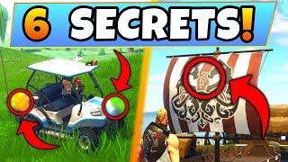 Fortnite Gameplay: 6 HIDDEN THINGS on THE MAP! – Hidden CHEST, ATK Secrets! (Battle Royale Season 5)