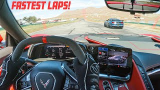 RECORD 2020 C8 CORVETTE LAP AT WILLOW SPRINGS RACEWAY! (My fastest laps yet)
