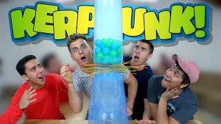 Don't Let The Balls Fall! (Most Extreme Giant Kerplunk)