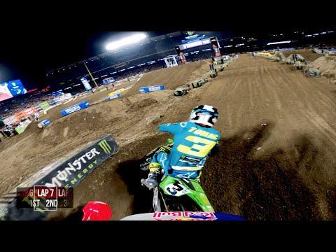 GoPro: Ken Roczen - 2020 Monster Energy Supercross - 450 Main Event Highlights - Anaheim 2