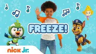 Freeze Dance Along w/ PAW Patrol, Bubble Guppies, Top Wing, Butterbeans & More! | Nick Jr.