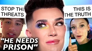 TikToker Leaks Video to Send James Charles to JAIL, Gets Exposed by Friend