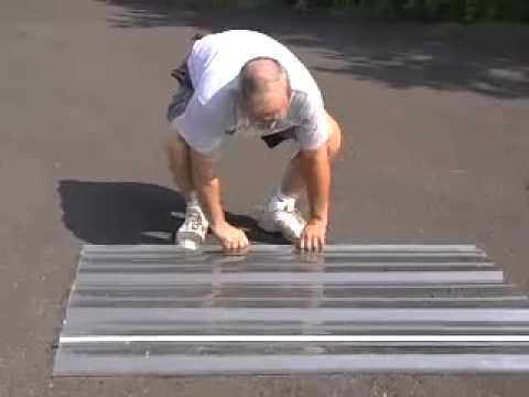 Polycarbonate Roofing: Tuftex Polycarbonate Roofing