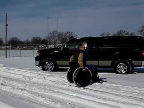 Carl vs The Snow - MagicWheels Win!