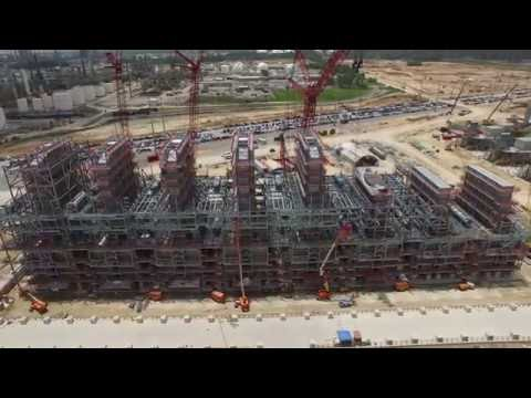 Sasol's US Mega Project (July 2016) | Latest Aerial View Of Construction