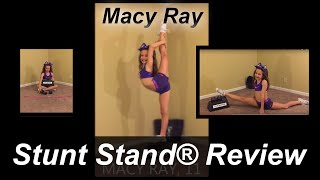 Macy Ray's review of the Stunt Stand® training device