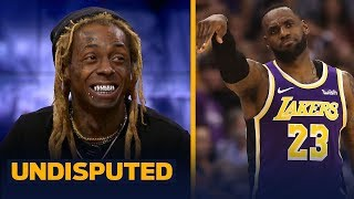 LeBron's Lakers are the Kings of Los Angeles — Lil Wayne | NBA | UNDISPUTED
