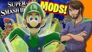 Super Smash Bros. MODS & GLITCHES! - SpaceHamster