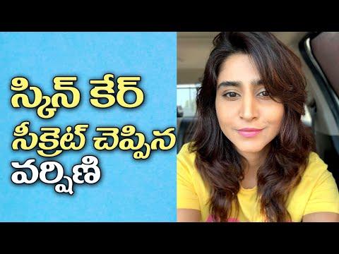 Anchor Varshini Sounderajan shares her beauty secrete
