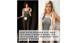 How Fat Loss & Stable Mood Led to 9 Years on Carnivore with Amber O'Hearn