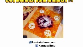 ... to making Tie Dye (Cara Membuat Batik Jumputan) - freesaptutorial.com