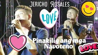 Jericho Rosales pinakilig ang mga Navoteño ❤️❤️❤️