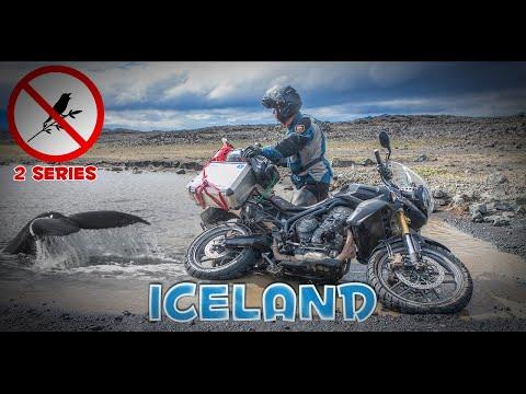 2 ч. Мотопутешествие по Исландии: Ватнайёкюдль - Аскья - Детфосс - Селфосс - Вити - Крафла - Миватн