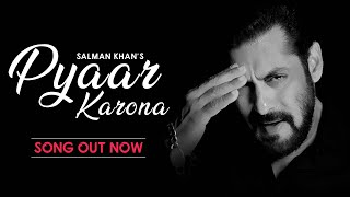 Pyaar Karona – Salman Khan