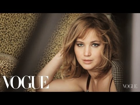 Behind the Scenes with Jennifer Lawrence on Her Cover Shoot ...