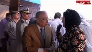 احتفالات مدينة اسوان بافتتاح قناة السويس مرسي ايزيس     -