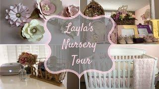 Layla's Room Reveal | Floral Whimsical Nursery Tour | Deja Marie