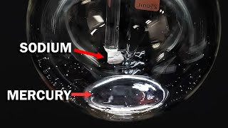 Mixing sodium with mercury