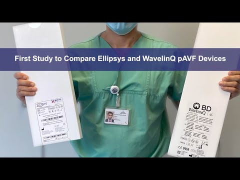 Comparison of Outcomes of Percutaneous Arteriovenous Fistula Creation by Ellipsys & WavelinQ Devices