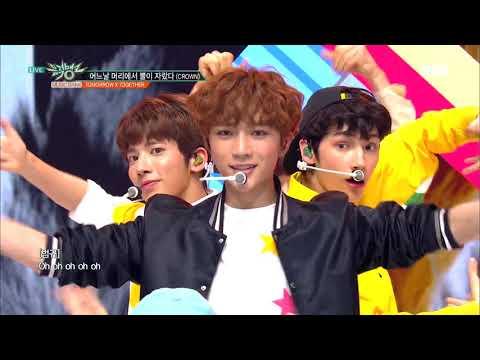 어느날 머리에서 뿔이 자랐다(CROWN) - TXT (투모로우바이투게더) [뮤직뱅크 Music Bank] 20190308