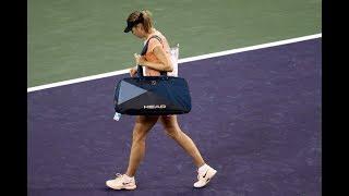 2018 Indian Wells First Round | Naomi Osaka vs Maria Sharapova | WTA Highlights