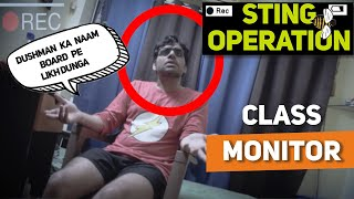 Sting Operation of Class Monitor – Satish Ray (School Life Comedy) Video HD