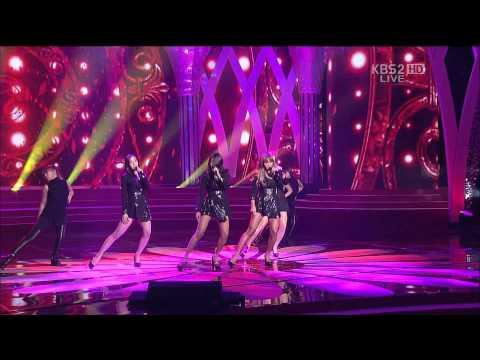 121030 제49회 대종상 영화제 축하공연 Sistar Alone