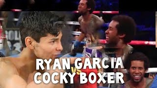 Ryan Garcia vs Cocky Boxer