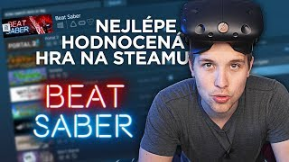 Top #1 hra na Steamu - BEAT SABER VR 4K