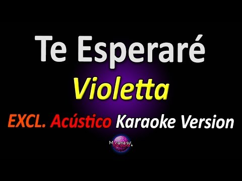 Baixar Violetta - Te Esperaré (Acústico) (KARAOKE COMPLETO)