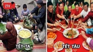 So sánh Tết Việt Nam và Tết Trung Quốc