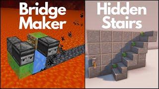 Minecraft: 5 Simple Redstone Builds