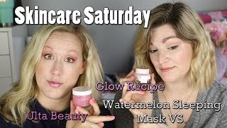 Skincare Saturday Epidsode 7 ~ Watermelon Sleeping Mask and DUPE???