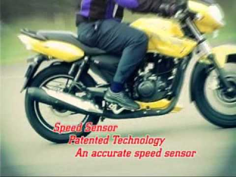 TVS Apache 180 with powerful ABS