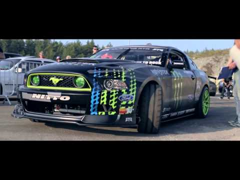 Vaughn Gittin Jr & MagnaFlow at Gatebil